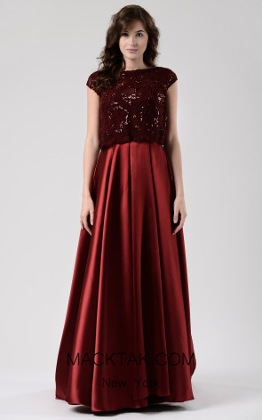 Beside Couture by Gemy Maalouf CHW1577 Front Dress