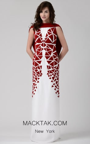 Beside Couture by Gemy Maalouf CHW1586 Front Dress
