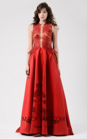 Beside Couture by Gemy Maalouf CHW1587 Front Dress
