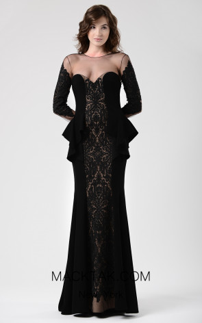 Beside Couture by Gemy Maalouf CHW1592 Front Dress