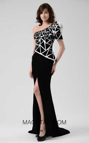 Beside Couture by Gemy Maalouf CHW1595 Front Dress