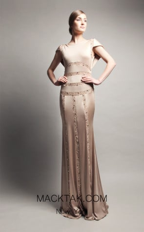 Beside Couture by Gemy Maalouf CPF13 3638 Front Dress