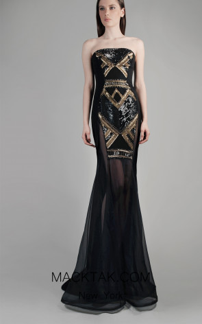 Beside Couture by Gemy Maalouf CPF14 4046 Front Dress