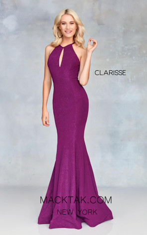 Clarisse 3726 Mulberry Front Prom Dress