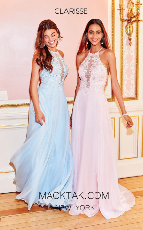 Clarisse 3757 Front Prom Dress