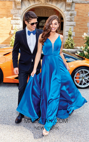 Clarisse 3776 Royal Front Prom Dress