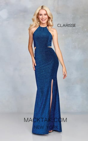 Clarisse 3789 Royal Front Prom Dress