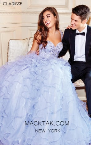 Clarisse 3810 Lilac Front Prom Dress