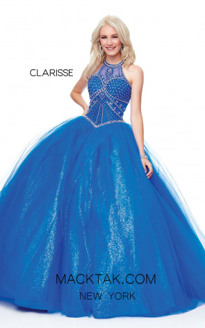 Clarisse 3814 Royal Front Prom Dress