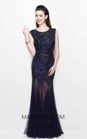 Primavera Couture 1703 Midnight Front Dress