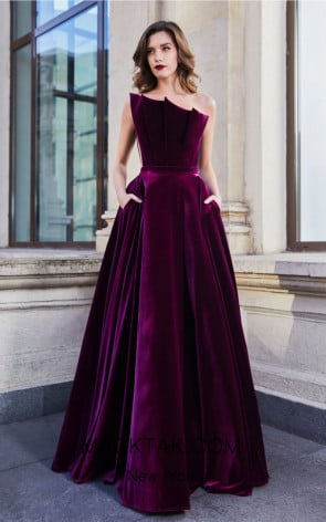 Cristallini SKA946 Front Evening Dress