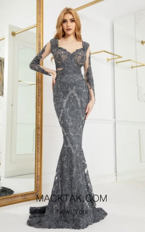 Cristallini SKA958 Front Evening Dress