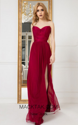 Cristallini SKA984 Front Evening Dress