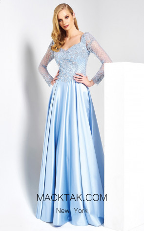 Dressing Room 1315 Baby Blue Front Dress