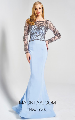Dressing Room 1316 Baby Blue Front Dress