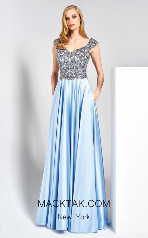 Dressing Room 1318 Baby Blue Front Dress