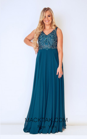 Dynasty 1013218 Front Midnight Teal