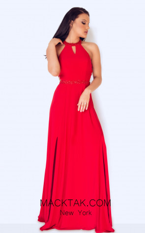 Dynasty 1013015 Front Red Dress