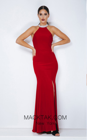 Dynasty 1013127 Front Red Dress