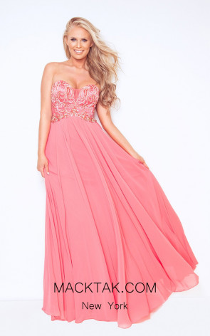 Dynasty 1023014 Front Watermelon Dress