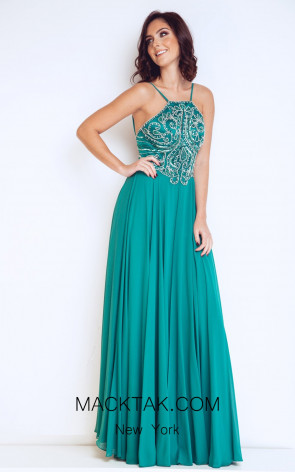 Dynasty 1023107 Front Emerald Dress