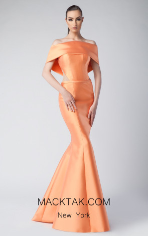 Edward Arsouni FW0246 Clementine Front Dress