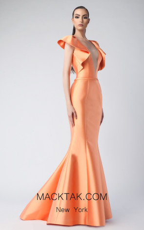 Edward Arsouni FW0248 Clementine Front Dress