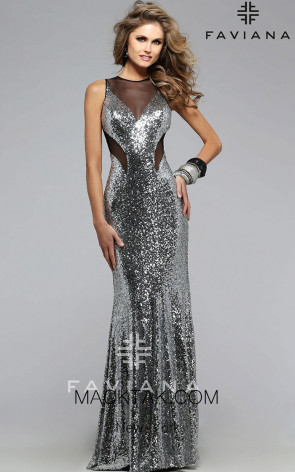 Faviana 7331 Front Evening Dress