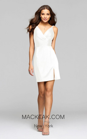 Faviana 7850 Ivory Front Dress