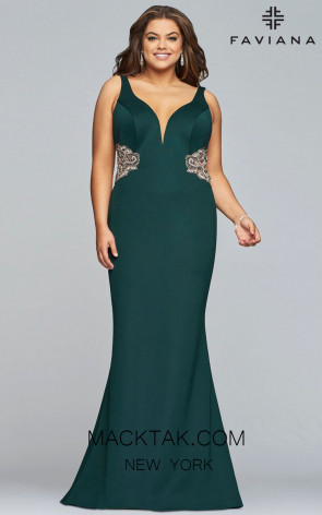FAVIANA 9448 DARK GREEN FRONT