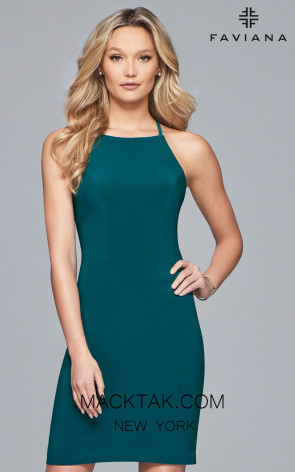 FAVIANA S10166 FORESTGREEN FRONT.