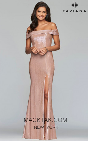 FAVIANA S10216 ROSE GOLD FRONT