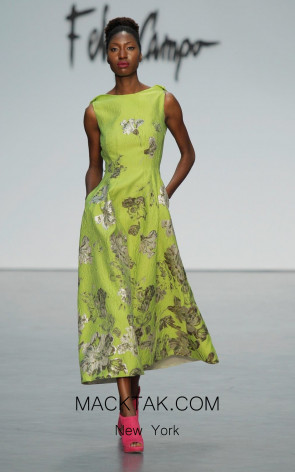 Fely Campo 18140 Front Dress