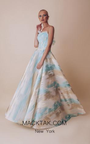 Gatti Nolli 5016 Optimum Design Front Evening Dress
