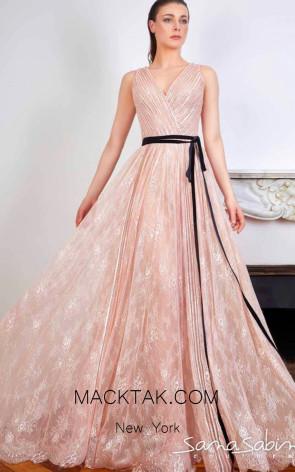 Sana Sabini 9231 Front Evening Dress