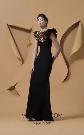 Isabel Sanchis Coro Front Dress