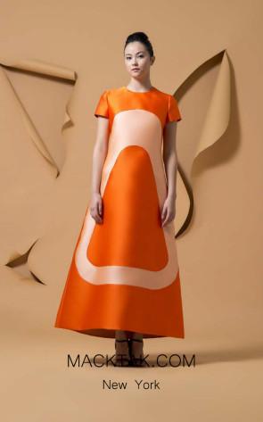 Isabel Sanchis Velan Front Dress