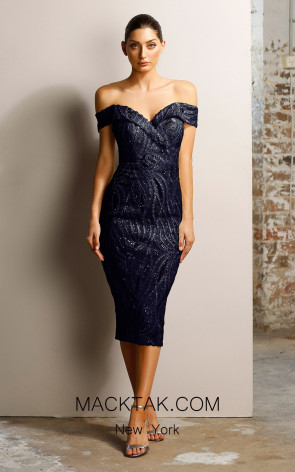 Jadore JX1018 Navy Dress