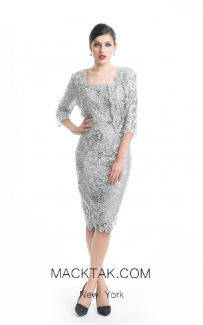 Jadore Canada J5069 Silver Front Evening Dress