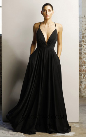Jadore JX1064 Black Front Dress