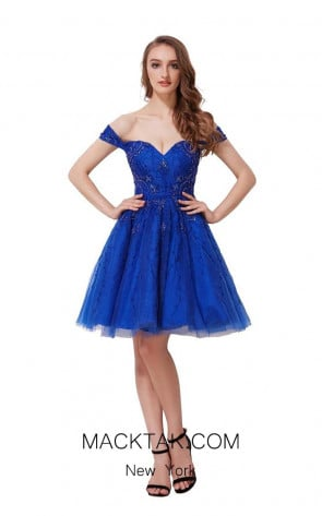 Jadore J12037 Royal Front Dress