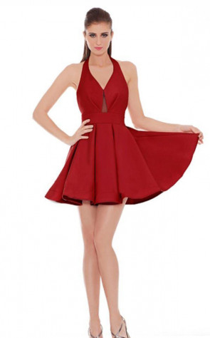 Jadore J6010 Red Front Dress