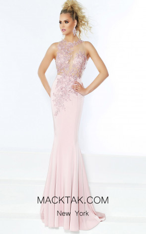 Jasz Couture 6415 Ice Pink Front Dress