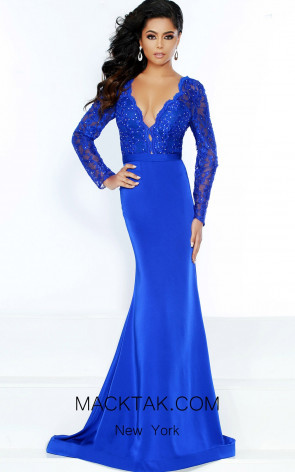 Jasz Couture 6496 Royal Front Dress