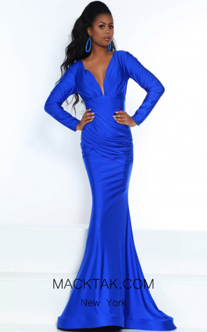 Jasz Couture 6504 Royal Front Dress