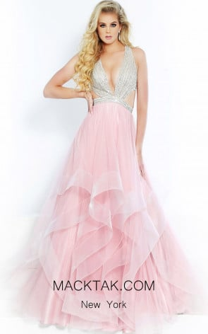 Jasz Couture 6510 Blush Front Dress