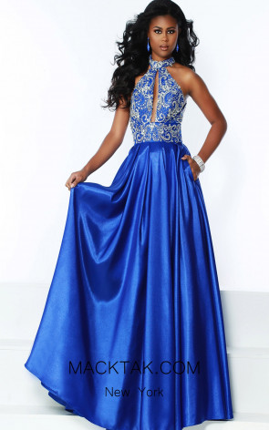 Jasz Couture 6516 Royal Front Dress