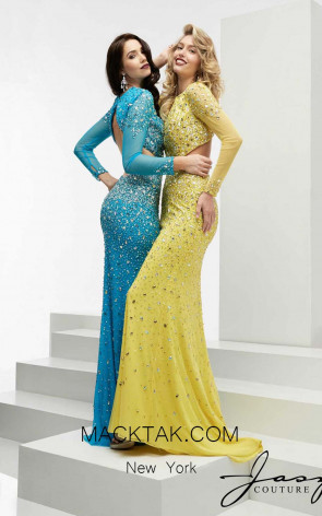 Jasz Couture 6026 Front Evening Dress