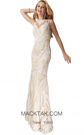 Jasz Couture 6235 Front Evening Dress