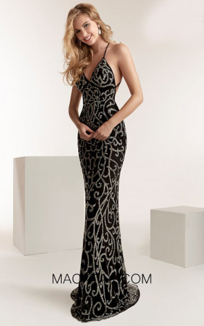 Jasz Couture 1440 Front Evening Dress